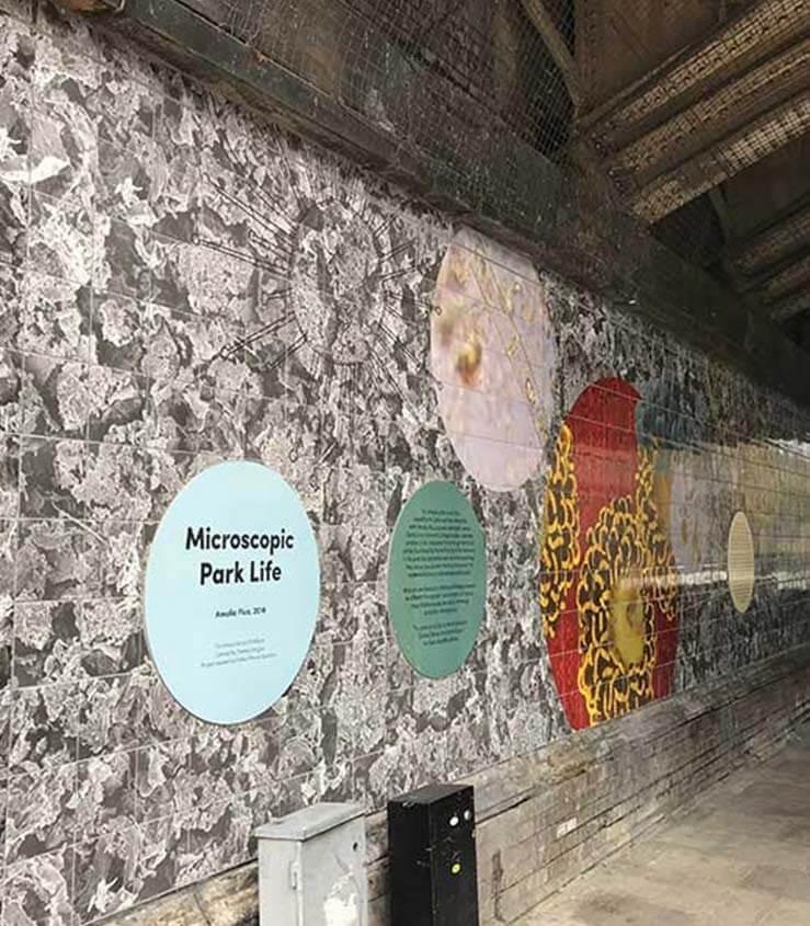 POW Wall Mural