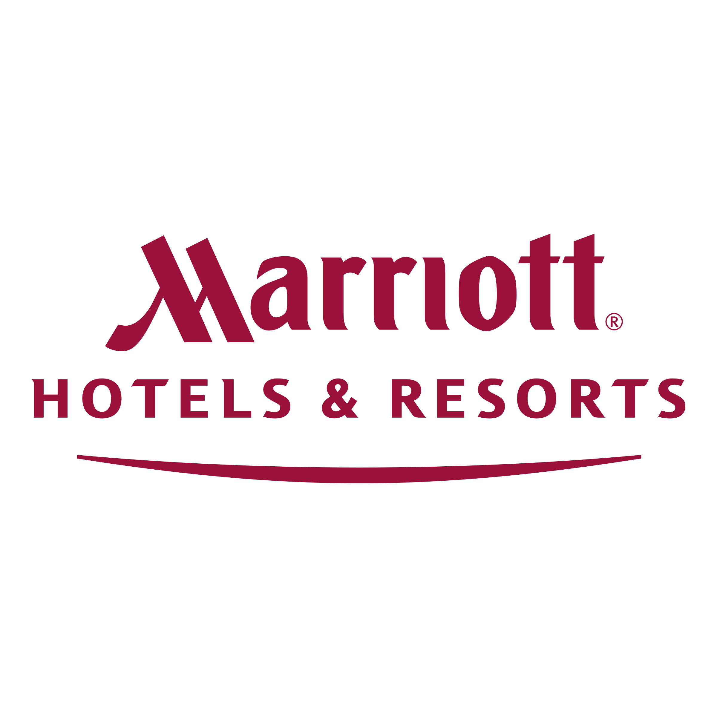 The Marriott Hotels logo