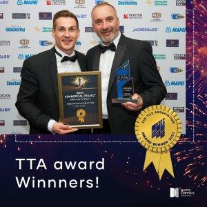TTA Award winners